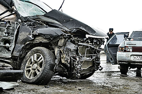Названы самые аварийные участки на Московской кольцевой