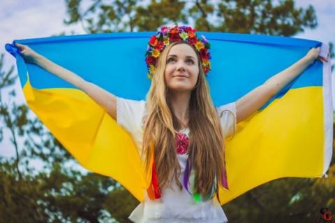 Украинка в прямом эфире устр…
