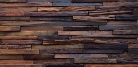 Плитка из дерева: как изготовить и как монтировать