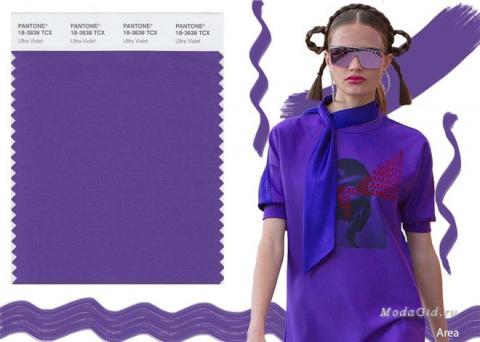Модные цвета 2018 в одежде