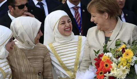 Ангела Меркель Мухаммед: В Г…