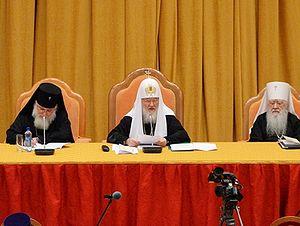 Патриарх Кирилл: Мы не можем своим молчанием как бы поддерживать губительную для человеческих душ позицию политиков
