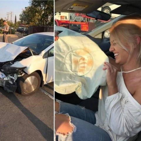 Необычные аварии и впечатляю…