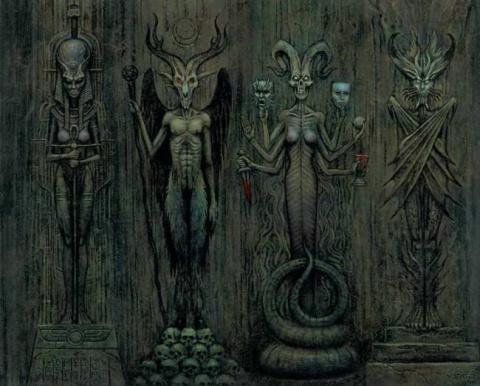 Эзотерика: Сущности-хищники заставили людей им поклоняться