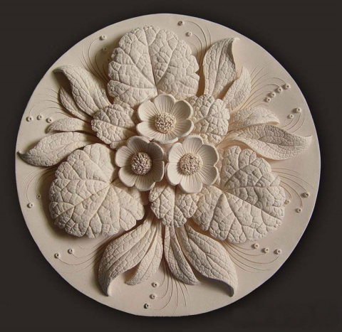 Цветочная керамика Вячеслава Горяного