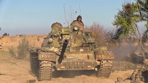 Сирия: ИГИЛ теряет позиции н…