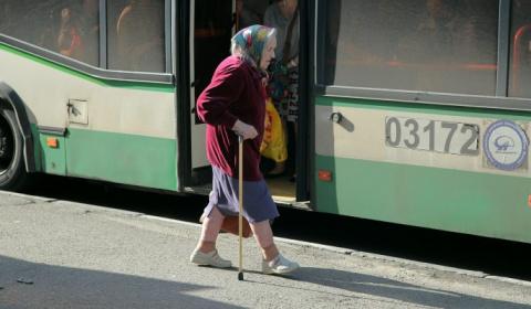 Когда в автобусе не осталось…