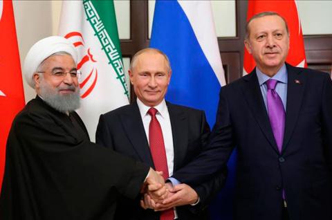 Сирия: сообразили на троих