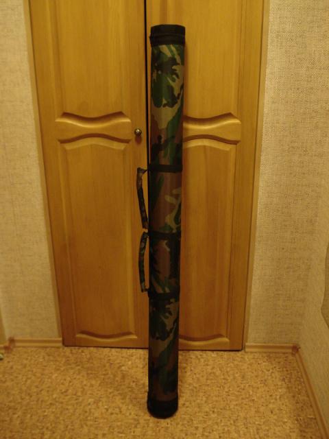 1576. Двусторонний тубус для шести троллинговых спиннингов