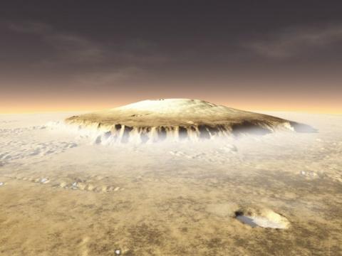 Марсианские вулканы - колыбе…