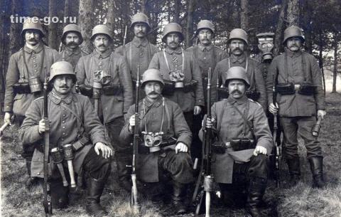 «Рогатый агрессор»: почему немецкие солдаты носили шлемы с «рожками»