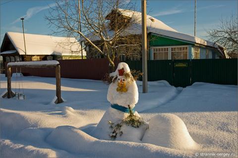 Срочно за снегом к Деду Морозу