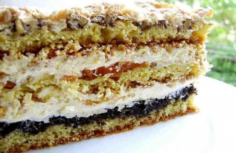 Замечательный тортик «Люби меня». Готовьте только для любимых !