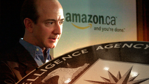 ЦРУ теперь продаёт еду, а Amazon обслуживает Deep State
