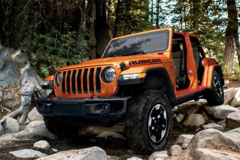 Новый Jeep Wrangler: порция …