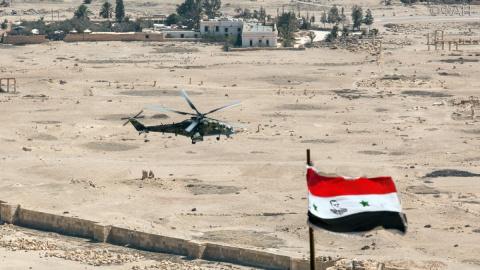 Сирия: ВКС РФ уничтожили за сутки около 850 террористов в Дейр эз-Зоре
