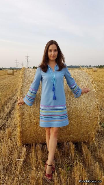 Шьем простые красивые платья…