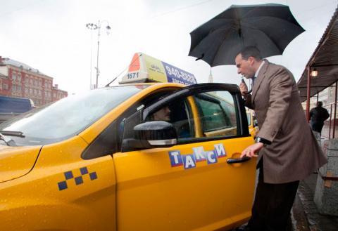 Работая в такси, чего только…