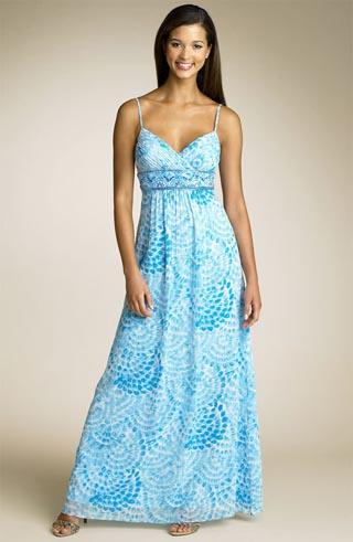 Пляжная мода лета 2010: платья