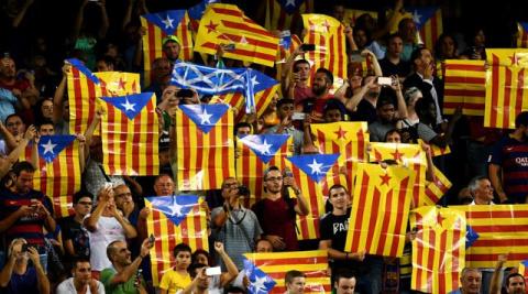 """Мадрид пытается """"задушить"""" независимую Каталонию"""