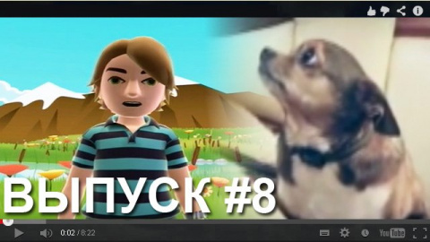 Смешное видео про кошек собак и к 700