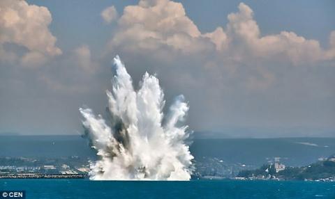 Daily Mail: в российском Крыму обезвредили нацистскую парашютную мину