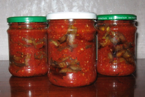 Баклажаны, перец, капуста - заготовки на зиму