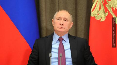 Путин поприветствовал участн…