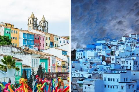 22 реальных города со всего мира, которые выглядят как сказочные