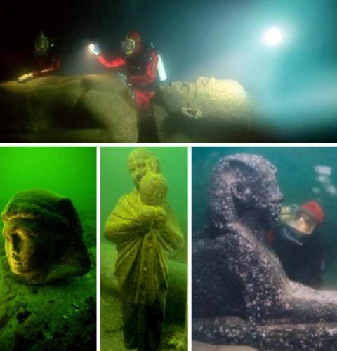 города под водой