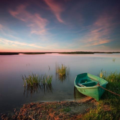 Сalm lake