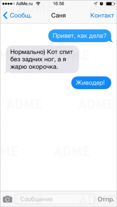 20 двусмысленных СМС-ок