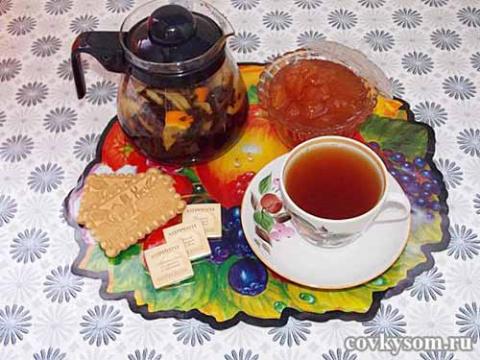 Вкусный и полезный чай с апе…