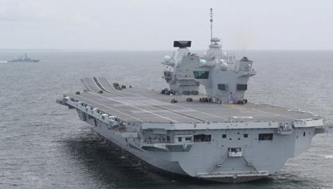 Потопление британского флота…