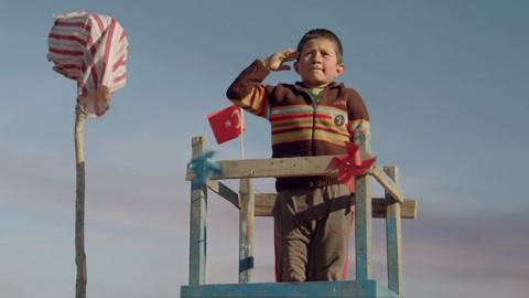 Сказ о том, как турецкие дети к себе самолет заманили