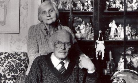 Павел Кадочников и Розалия К…