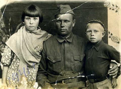 Дети, опалённые войной...