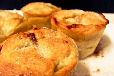 Десертный вихрь. Пироги с яблоками. Мини