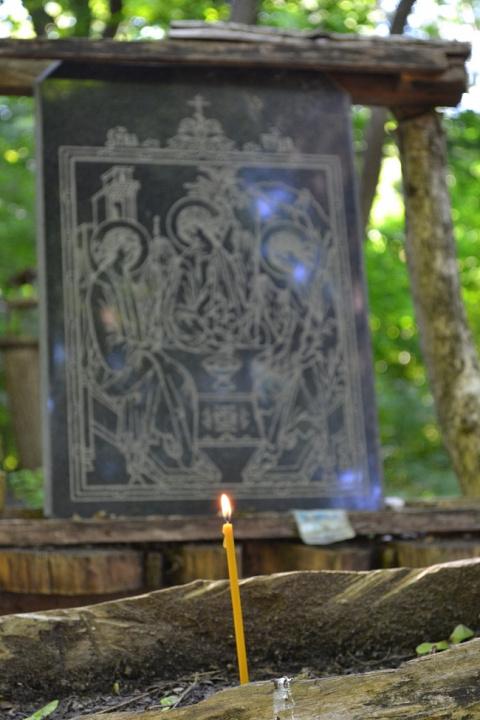Свято-Троицкий источник - храм под открытым небом.