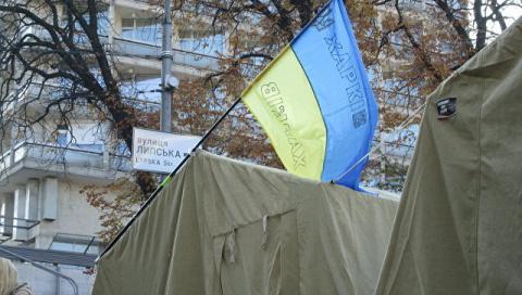 СМИ: депутатам Рады из-за митинга приходится носить накладные усы и парики