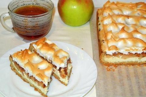 Немецкий яблочный пирог