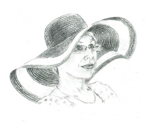 Просто карандашный портрет)))
