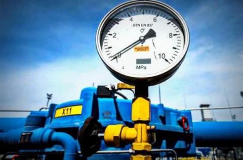 Потребление газа на Украине …