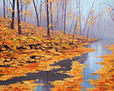 Краски осени в живописи Graham Gercken