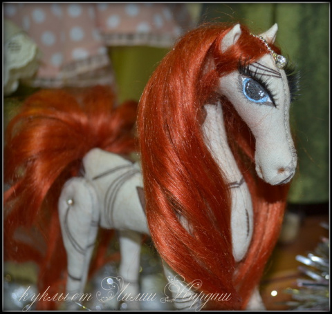 Я с лошадками  - Купава, Любава и Забава :)