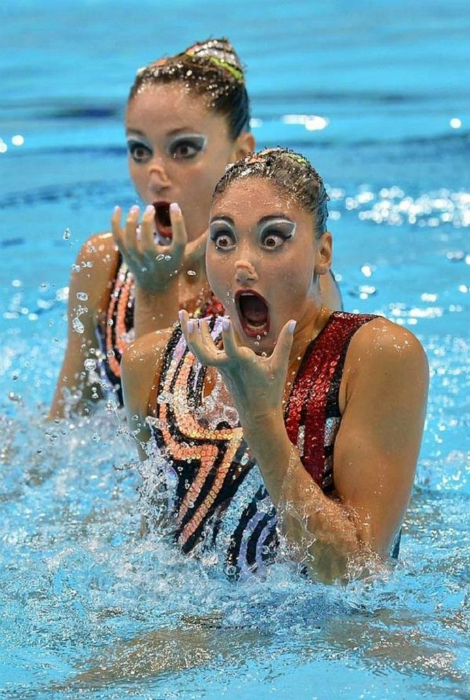 10 очень харизматичных пловчих, которые знают, как привлечь внимание публики