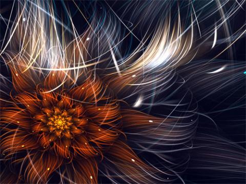 Чарующие творения фрактальной графики