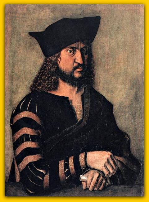 Портрет Фридриха Мудрого, курфюрста Саксонского(1500)