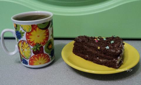 Пирог к чаю. Готовим в микроволновке