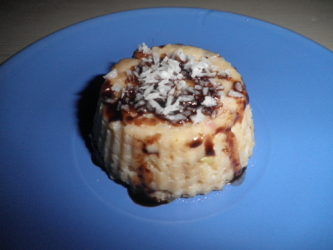 Яблочный десерт. СВЧ-печь